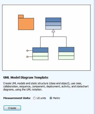 UML sequence diagram Microsoft Visio 2007