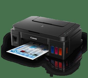 ดาวน์โหลดไดร์เวอร์เครื่องปริ้น Canon PIXMA G3000 Printer Driver