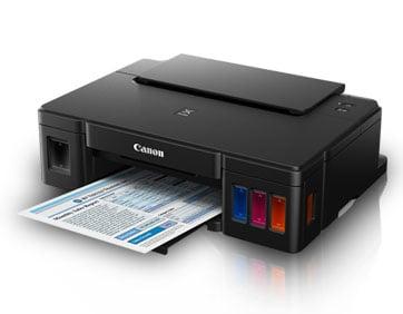 ดาวน์โหลดไดร์เวอร์เครื่องปริ้น Canon PIXMA G1000 Series Printer Driver