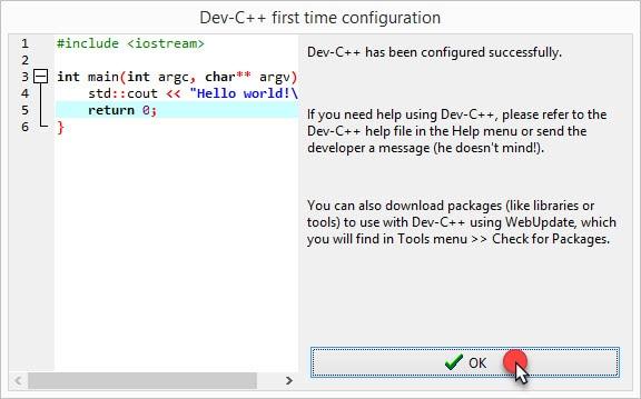 วิธีติดตั้งโปรแกรม Dev-C++