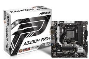 ดาวน์โหลดไดร์เวอร์ ASRock AB350M Pro4