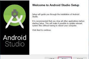 วิธีติดตั้งโปรแกรม Android Studio